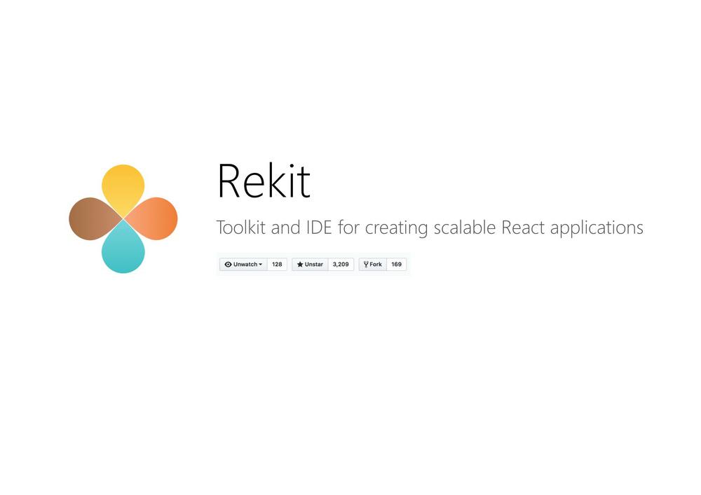 使用Rekit开发可扩展的前端应用