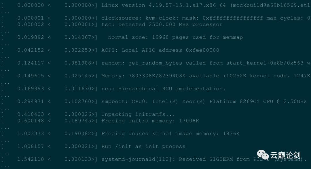 Alibaba Cloud Linux 2 LTS OS 启动优化实践