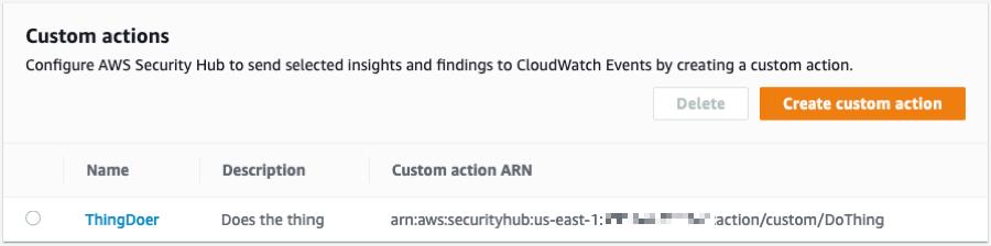 AWS Security Hub 现已正式发布