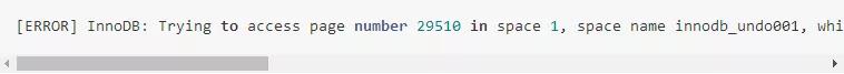 Galera MySQL 5.7.17 bug修复