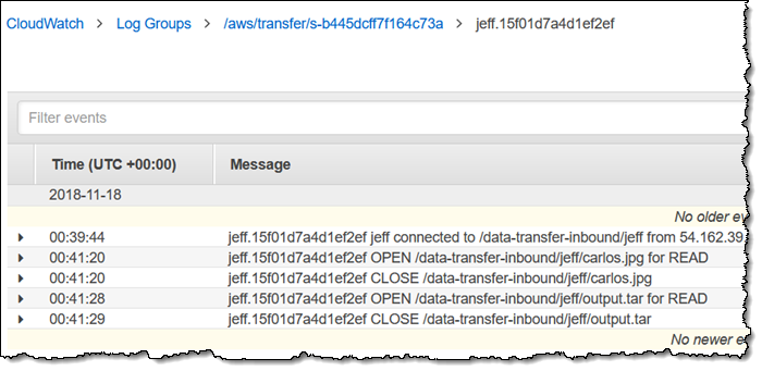 AWS Transfer for SFTP,适用于 Amazon S3 的完全托管式 SFTP 服务