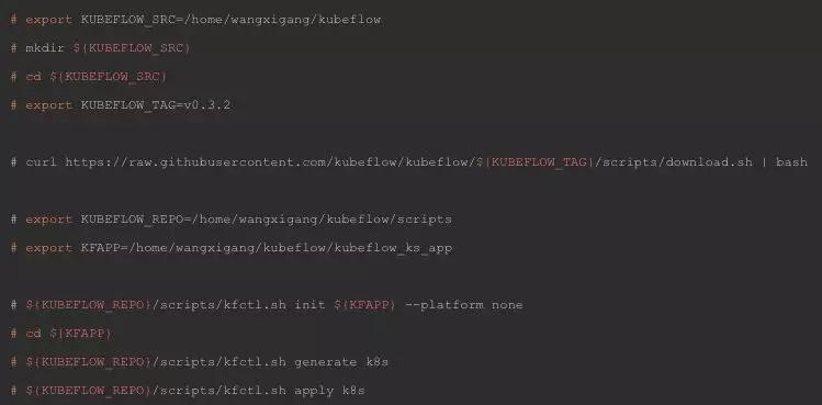 Kubeflow使用Kubernetes进行机器学习