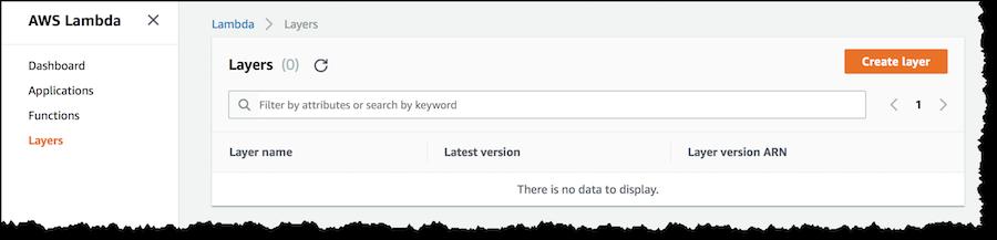 AWS Lambda 新增功能,使用任何编程语言和共享通用组件