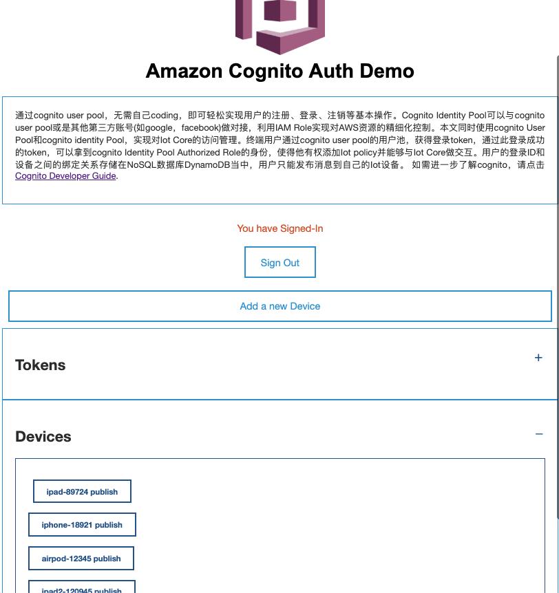 Cognito Identity Pool + IoT Core 实现 Mobile 端用户对设备权限的精细化控制