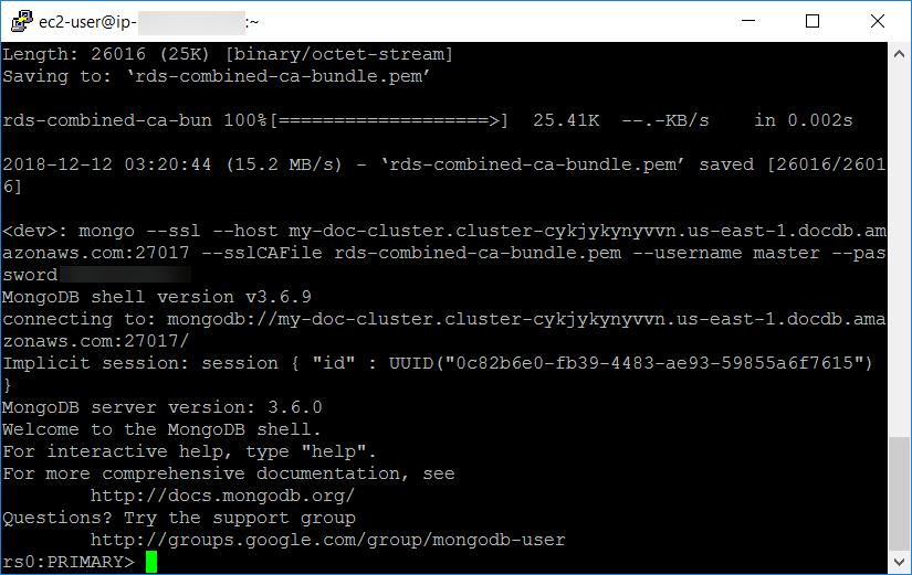 Amazon DocumentDB(兼容 MongoDB):快速、可扩展、高度可用